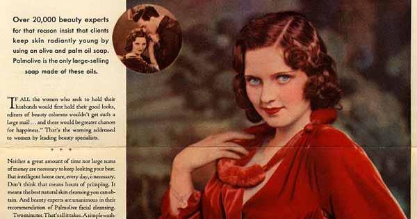 lam sao de giu chong - Những mẫu quảng cáo ấn tượng nhất lịch sử ngành mỹ phẩm