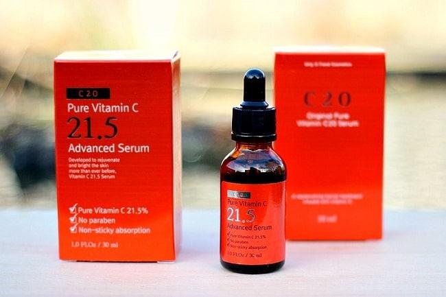 OST Pure Vitamin C 21.5 Advanced Serum 30ml - Các Loại Serum Vitamin C Tốt Nhất 2020