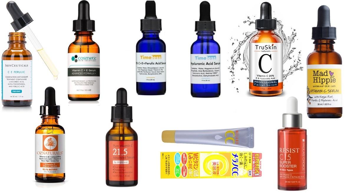 serum vitamin c - Các Loại Serum Vitamin C Tốt Nhất 2020