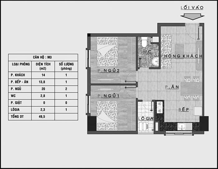 Hinh2 phai co ban ve can ho chung cu - Chi tiết các loại giấy tờ cần thiết khi mua bán chung cư