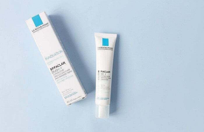 kem tri tham La Roche Posay Effaclar Duo - Các bước dưỡng da cho da dầu mụn cùng những sản phẩm thần thánh