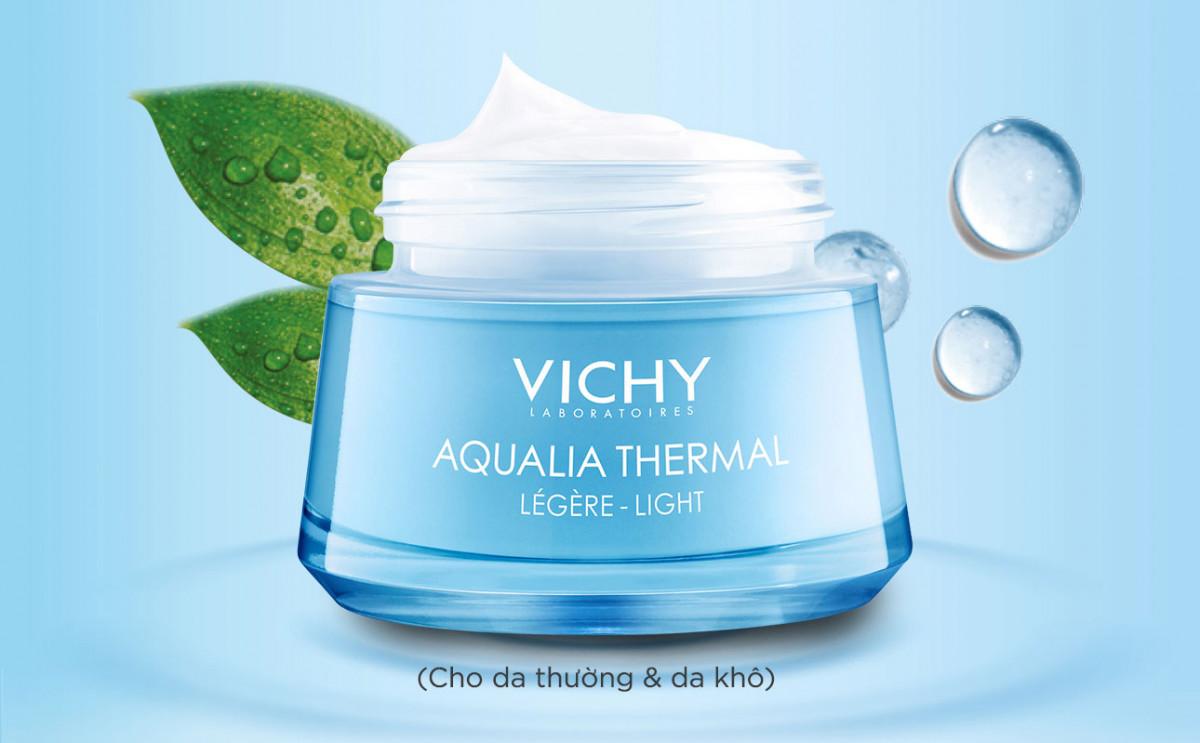 7 - Kem dưỡng ẩm Vichy cho da dầu Aqualia Thermal Water Gel