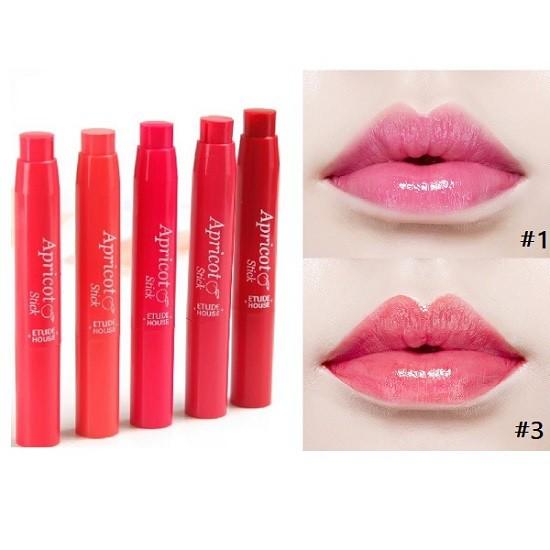 etude house apricot stick gloss 4 500x500 - Những Item makeup nhà Etude House giá hạt dẻ, chất miễn đùa